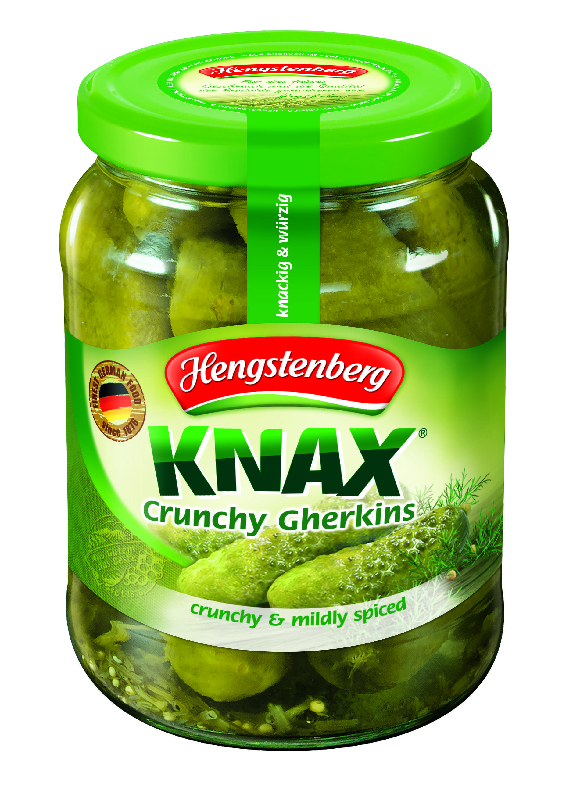 HENGSTENBERG - KNAX GHERKINS 720ml x 6