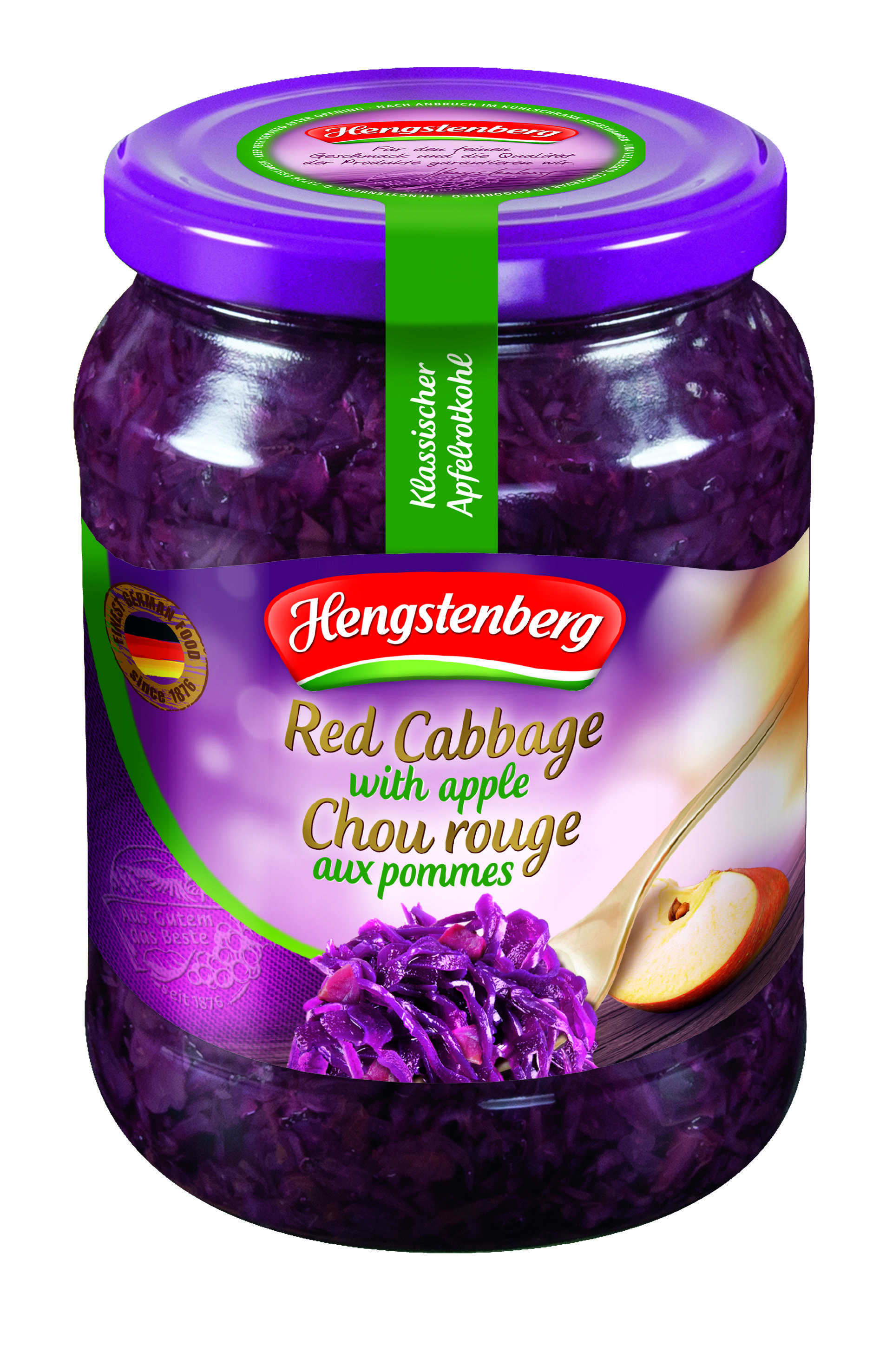 HENGSTENBERG - RED CABBAGE WITH APPLE 720ml x 12