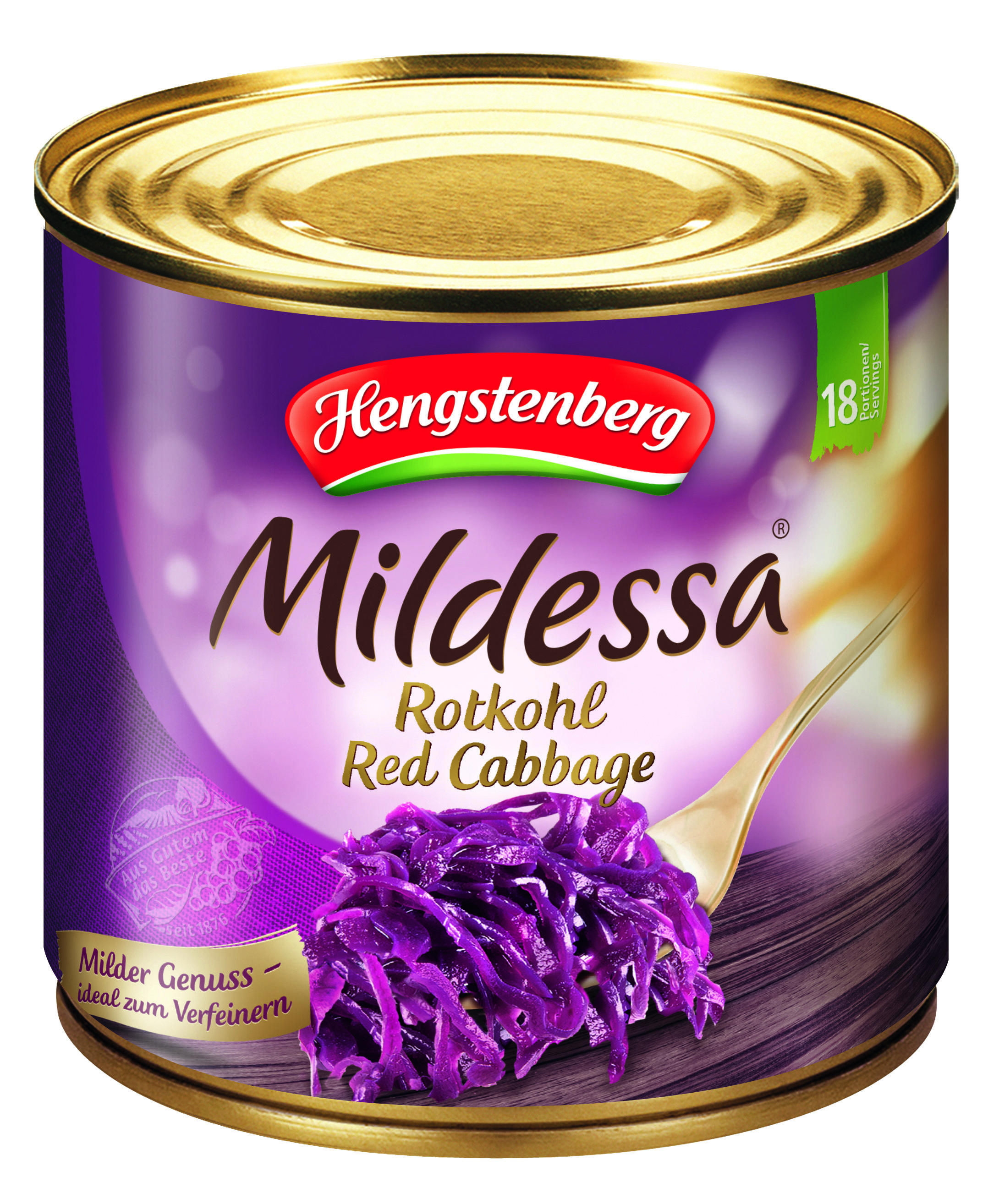 HENGSTENBERG - RED CABBAGE IN TIN 2650ml x 1