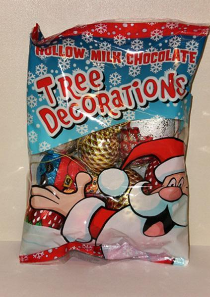 Hauswirth - Christmas Tree Decoration in Bag 125g x24