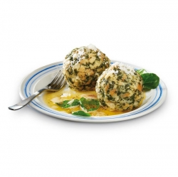 BURGIS - SPINACH DUMPLINGS 75g x40 (1x 40 pieces)