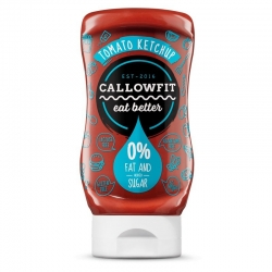 CALLOWFIT - TOMATO KETCHUP 300ml x6 - Click for more info