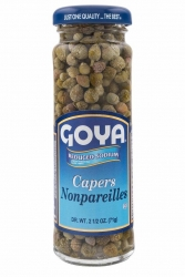 GOYA- CAPERS NON-PAREILS (REDUCED SODIUM) 111g x 12 - Click for more info