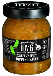 HENGSTENBERG - 1876 - SWEET & SPICY DIPPING SAUC 250ml x6