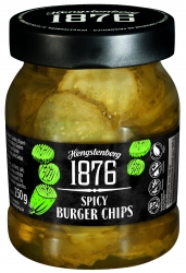 HENGSTENBERG - 1876 - SPICY BURGER CHIPS 250ml x6