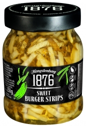 HENGSTENBERG - 1876 - SWEET BURGER STRIPS 250ml x6