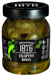 HENGSTENBERG - 1876 - JALEPENO RINGS 250ml x6