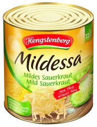 HENGSTENBERG - SAUERKRAUT WITHOUT WINE IN TIN 10.2ltr x 1