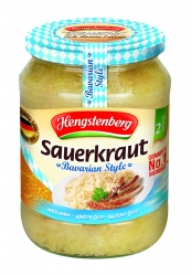 HENGSTENBERG - BAVARIAN STYLE SAUERKRAUT WITH WINE 370ml x 6