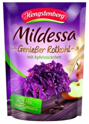 HENGSTENBERG - 3 MIN RED CABBAGE & APPLE IN BAG 400g x 6