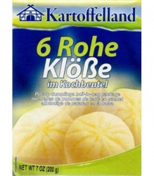KARTOFFELLAND - RAW DUMPLINGS IN BAG 200g x 7