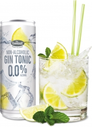 TWISST MOCKTAILS - GIN & TONIC CAN 250ml x24 - Click for more info