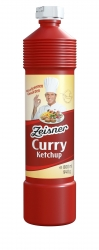 ZEISNER - CURRY KETCHUP 800ml x 12