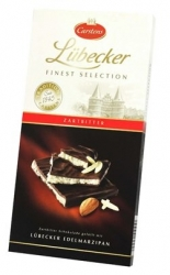 Carstens - Lubeck Finest Selection Dark Choc Bar w.Marzipan 140g x10