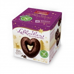 Coppenrath - Gluten Free Gingerbread Single Wrapped 165g x12