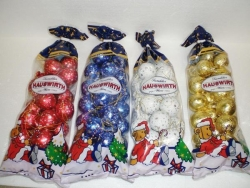 Hauswirth - Xmas Tree Decorations in Bag 300g x14