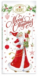 Heidel - Choco Greetings White Xmas 100g x10