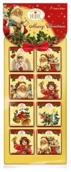 Heidel - 8 Chocolate Mini Bars Xmas Nostalgia 40g x24