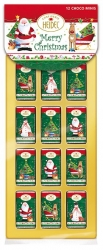 Heidel - 12 Choc Mini Bars Xmas Time 36g x24