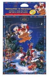 Heidel - Bear Advent Calendar 75g x16