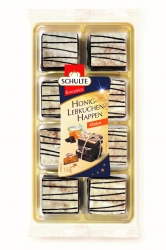 Schulte - Honey Gingerbread pieces glaced 150g x14