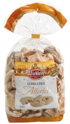 Wicklein - Lebkuchen Allerlei Sugar Iced in Bag  300g x20