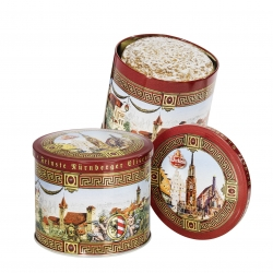 Wicklein - Castle Tin with Gold Elisen Lebk 25%+ 200g x15