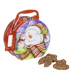 Wicklein - Children's Little Suitcase with coloured choc Lebkuchen 300g x17